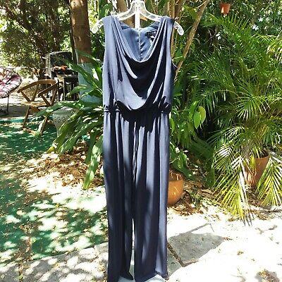 Ladies ENFOCUS STUDIO Size 12 Navy Pant Suit