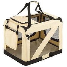 Cage sac box panier caisse de transport pour chien chat mobile pliable L