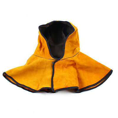 Flame Retardant Cowhide Weld Hood For Welding Helmet Shield Of Head Protection