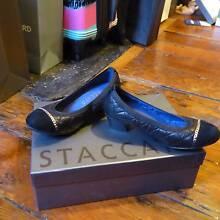 Size 34 Stylish Black Heel Pyrmont Inner Sydney Preview