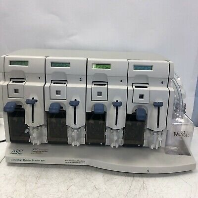 Affymetrix Genechip Fluidics Station 450 Liquid Handling Genetic Research Tested