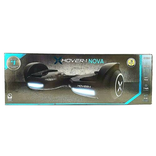 Hover-1 Nova Scooter LED Wheels LED Headlights 160 Max Weight 7 mph 6 Miles