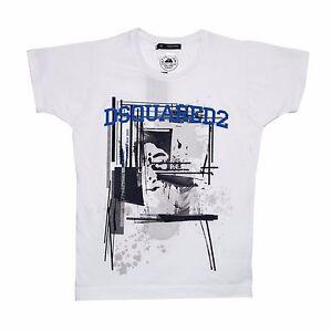 T-Shirt Dsquared2 weiss art Gr. S Gr. M Gr. L Gr. XL Gr. XXL