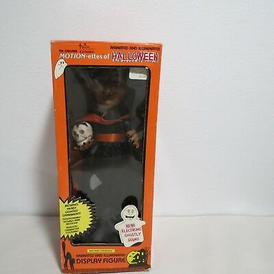 TELCO MOTION-ETTES OF HALLOWEEN ANIMATED AND ILLUMINATED DISPLAY FIGURE WITCH