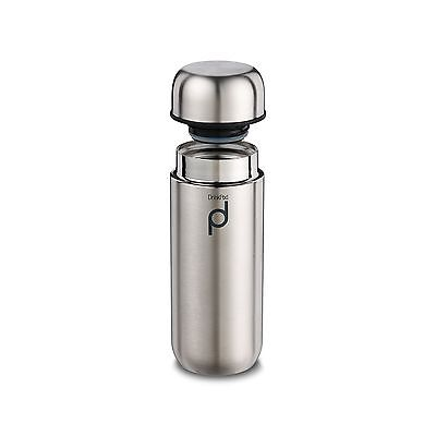 Grunwerg Drinkpod 200ml/7oz Stainless Steel Vacuum Flask The