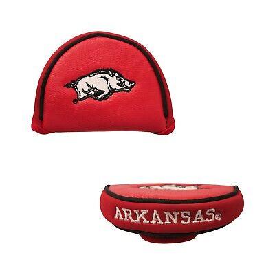 NCAA Arkansas Razorbacks Mallet Putter Cover Golf Headcover Course Club Bag SEC