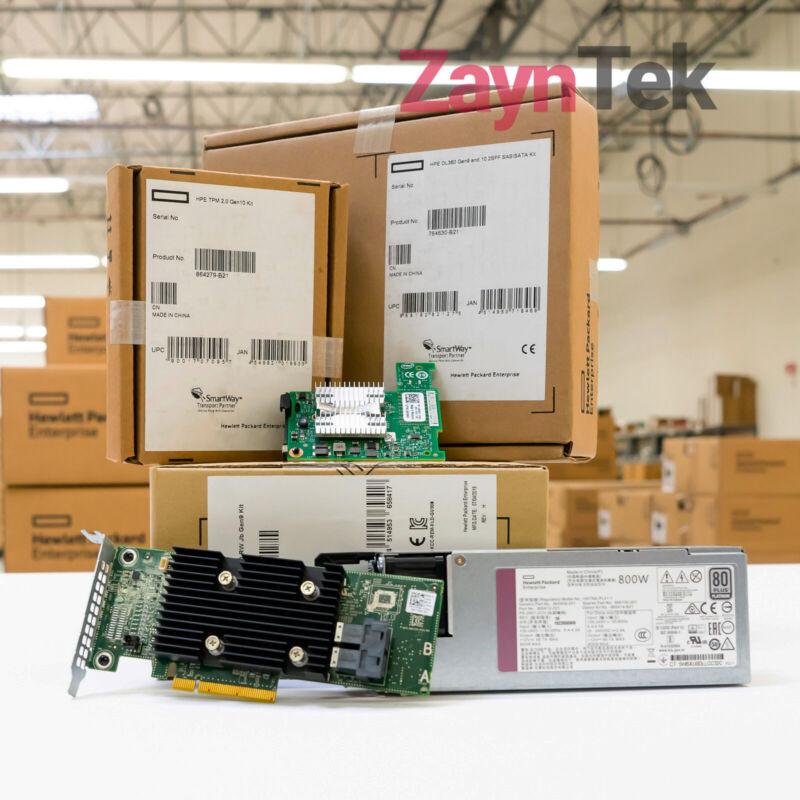 540-BBDW Intel X520 Dual Port 10Gigabit SFP Server Adapter Ethernet