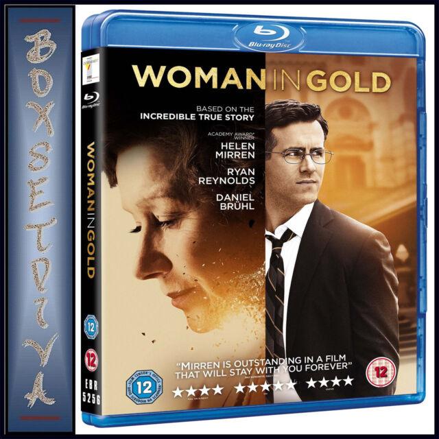WOMAN IN GOLD -  Ryan Reynolds   *BRAND NEW  BLU-RAY ***