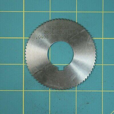 1one Slitting Slotting Saw Blade 0.0405 X 2-1116 Hss Machinist Cutting Tool