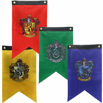 Harry Potter House Banner Flags Gryffindor Slytherin Ravenclaw Hufflepuff Flag - Ravenclaw Banner