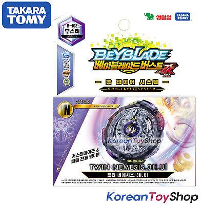 Takara Tomy BeyBlade Burst B-102 TWIN NEMESIS.3H.UI Takara Tomy Original BOX