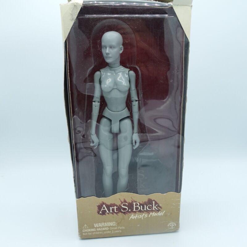 Art S. Buck Female Artists Model Anatomical Mannequin Packaging Has Wear