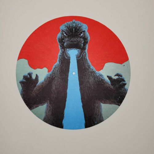 Godzilla The Showa Era Soundtracks 1954-1975 Exclusive Limited Edition Slipmat