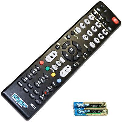 Hqrp Fernbedienung für Hitachi Serie LCD LED HD TV Smart 1080p 3D Ultra