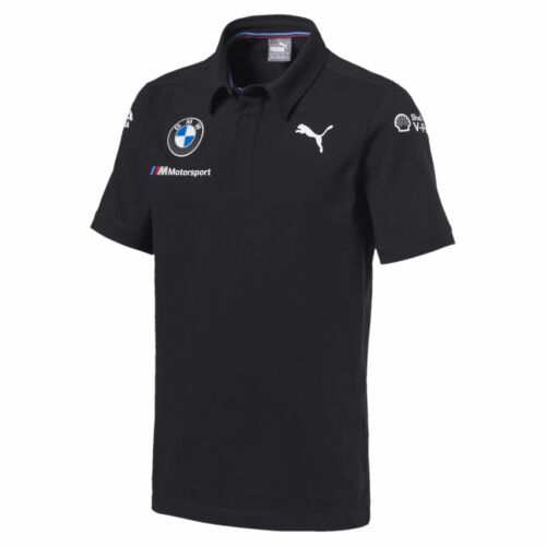 BMW Motorsport Team Men's Polo Shirt Dark Gray