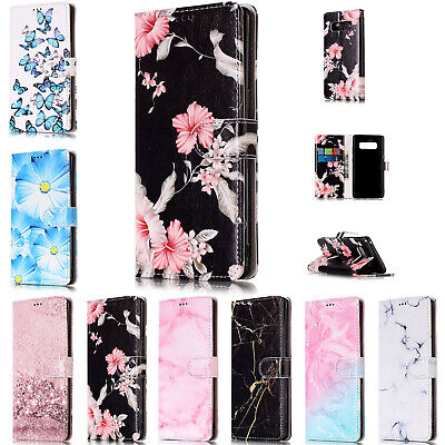 Flip Leather Wallet Phone Case Cover For Samsung Galaxy S5 S7 S8 S9 Note 10+