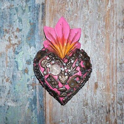 Mexican Milagro Heart Decoration Mini D