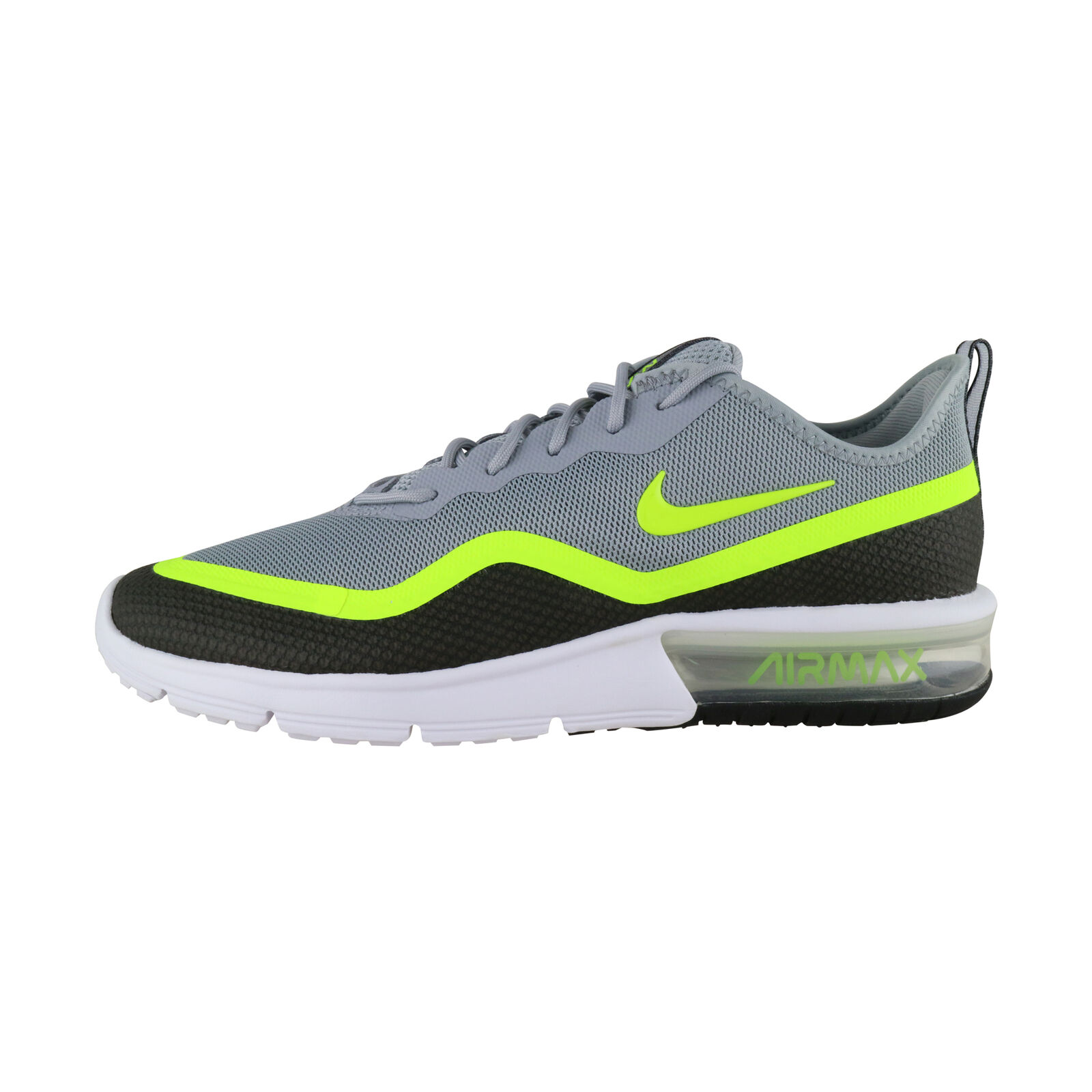 Détails sur Nike Air Max Sequent 4.5 Se GrisJaune BQ8823 001