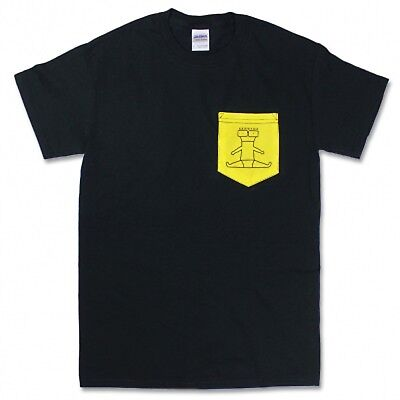 NEW DESCENDENTS I Don't Want To Grow Up Black Yellow Pocket Mens PUNK Shirt](I Dont Want To Grow Up)