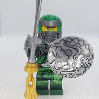 LEGO Ninjago Lloyd Hero Minifigure 71717 Master Of The Mountain Green Ninja
