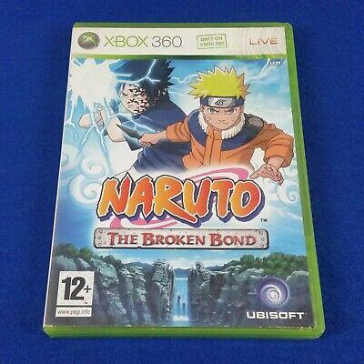 *xbox 360 NARUTO The Broken Bond (NI) Shonen Jump Shippuden Game PAL UK Version comprar usado  Enviando para Brazil