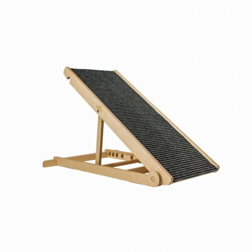 Adjustable Pet Ramp for All Dogs and Cats - for Couch or Bed - Made in USA