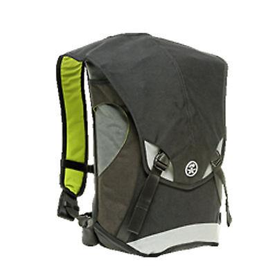 Crumpler The Seedybar SE-06A Messenger  Bag Backpack(Black/gunmetal/grey)
