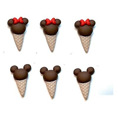 Jesse James Buttons - Dress It Up - MICKEY MINNIE ICE CREAM CONES ~ Sew Craft  James Ice Cream