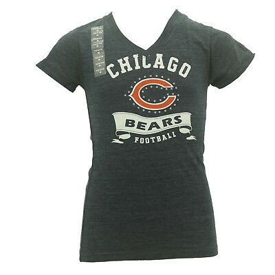 Chicago Bears official NFL Team Apparel Youth Girls Size T-shirt New With Tags