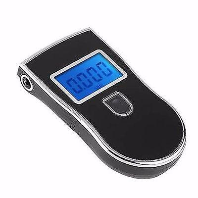 LCD Display Police Digital Breath Alcohol Analyzer Tester Alert Breathalyzer