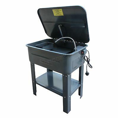 SwitZer 20 Gallon Part Washer With Pump Tank Cleaner Cleaning Bench Degreaser