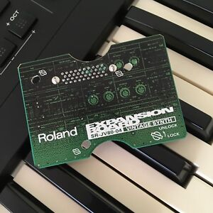 Roland Vintage Synth expansion JV/XP series