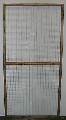 6' x 3' Half Wired Aviary Panel 1