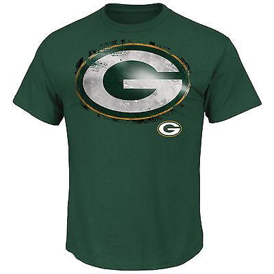 NFL Football T-Shirt GREEN BAY PACKERS Line-to-Gain von Majestic neu grün