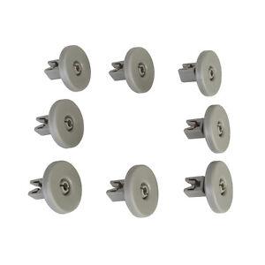 AEG Electrolux Tricity Bendix Zanussi Dishwasher Lower Cutlery Basket Wheels X8
