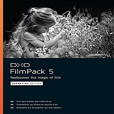 Dxo Filmpack 5 Essential Edition    Lifetime    One Key For Win   Mac    Fast