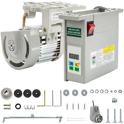 Brushless Sewing Machine Servo Motor W Needle Positioner 600 Watts
