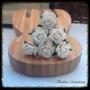 6-x-ROSE-HAIR-GRIPS-bride-bridesmaid-flowergirl-hair-accessories
