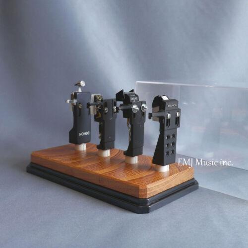 EMJ zelkova headshell cartridge keeper 4C Made in Japan New