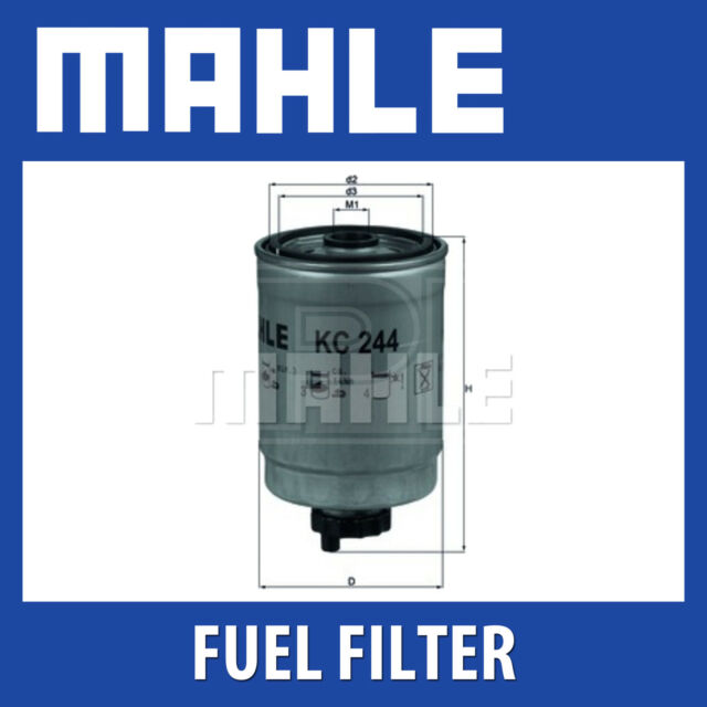 Mahle Fuel Filter KC244 - Fits Saab 9-3 - Genuine Part