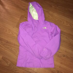Youth girls North Face spring rain jacket