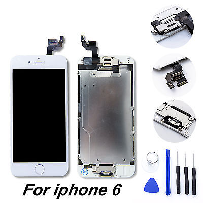 OEM iPhone 6 Full Screen Digitizer Replacement w/ Home Button Camera Ear Speaker