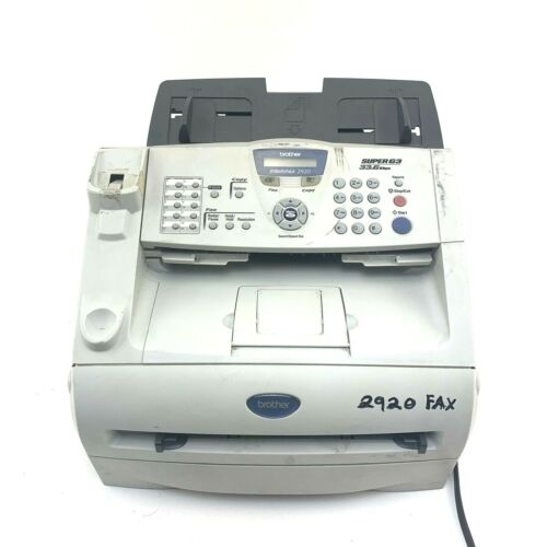 BROTHER INTELLIFAX 2920 FAX AND COPIER Tested Works