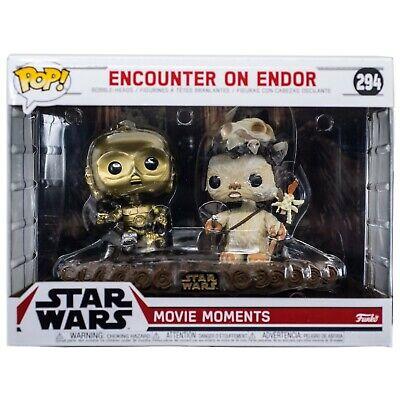 Star Wars Encounter On Endor Funko Pop #294 Movie Moments Bobble-Heads C-3PO New