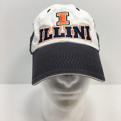 Illinois Fighting Illini  Snapback baseball hat Captivating Head Gear cap Adj.
