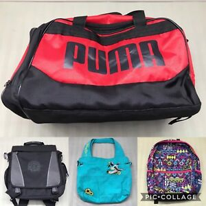 VARIOUS USED BAGS FOR SALE!! PUMA, LEVIS & MORE BY JORDAN JAMES