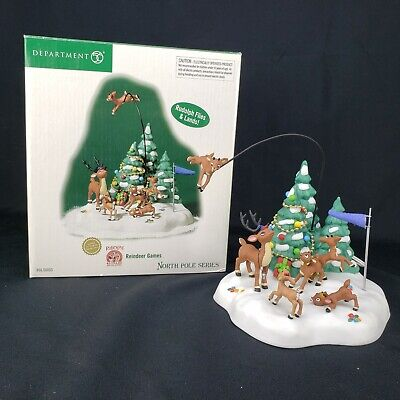 Reindeer Games 56853 Rudolph North Pole Department 56 Christmas  ()