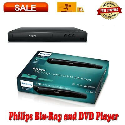 Philips Blu-Ray HD & DVD Player Entertainment Watching Movies Home Theater Exp