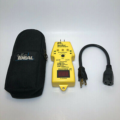 Ideal Sure Test Circuit Analyzer 61-151
