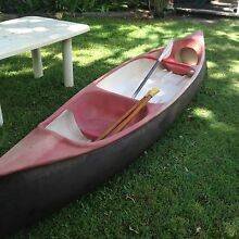 Fibreglass 2 man canoe and paddles Browns Plains Logan Area Preview